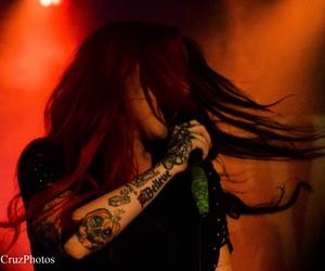 alternative, concert, and dark image