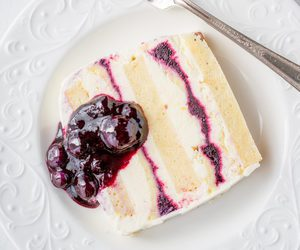 baking, blueberry, and breakfast image