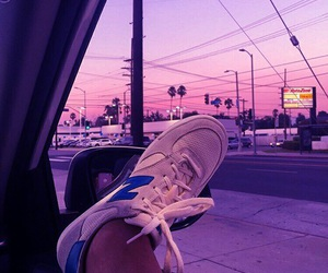 sky, aesthetic, and new balance image