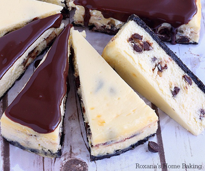 cake, chocolate, and cheesecake image