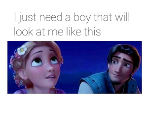 love, boy, and tangled image