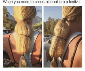 funny, festival, and hair image