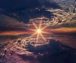 clouds and sun image