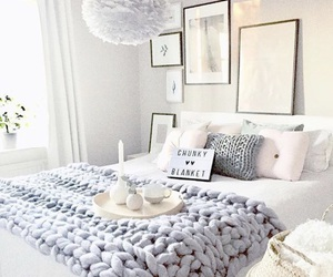 bedroom, relax, and decor image