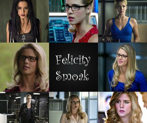 arrow, blond hair, and DC image