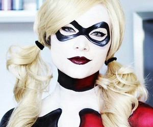 costume, Halloween, and harley quinn image