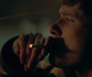 skins, smoke, and cigarette image