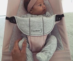 baby girl, bow, and cute image