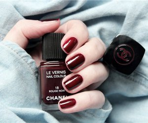 nail polish, chanel, and cosmetic image