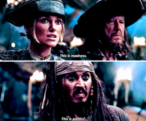 film, jack sparrow, and johnny depp image