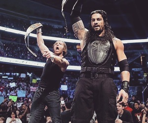 wrestling, dean ambrose, and roman reigns image