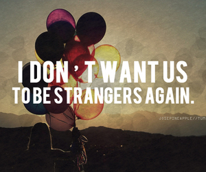quote, girl, and strangers image