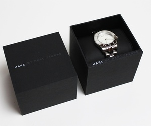 marc jacobs, watch, and black image