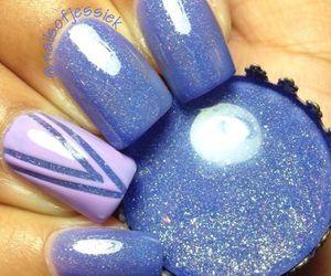 nails, holiday, and nail art image