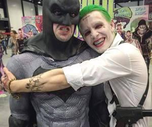 batman, joker, and funny image