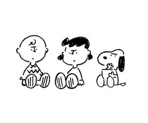 art, character, and snoopy image
