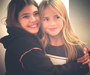 kristina pimenova, friends, and laneya grace image