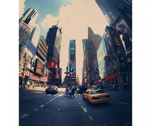manhattan, new york city, and times square image