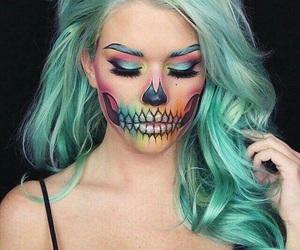 Halloween, makeup, and hair image