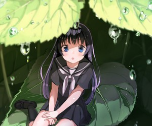 kawai, anime, and nature image