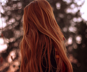 hair, red, and aesthetic image