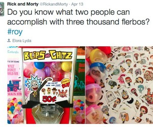 stickers, Tattoos, and rick and morty image
