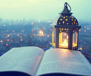 book, light, and city image