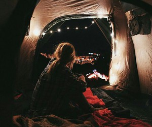 adventure, camp, and cozy image