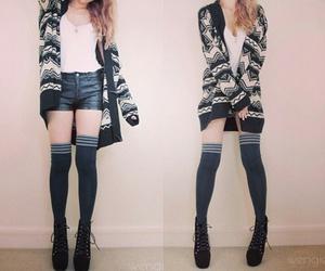 fashion, socks, and hoodies image