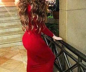 estilo, vestido, and cabello image