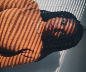 beauty, photography, and black girls image