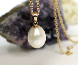 etsy, bridal wedding gift, and everyday pearl image