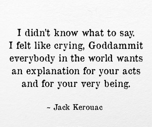 Jack Kerouac, poem, and poetry image