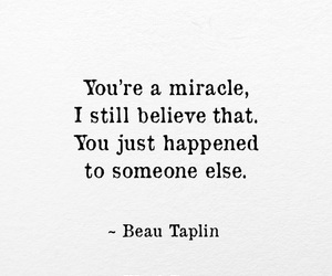 miracle, quote, and poem image