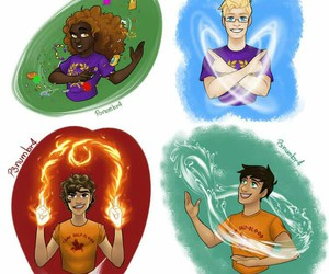 percy jackson, heroes of olympus, and os heróis do olimpo image