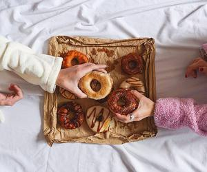 donuts, blogger, and fashion image