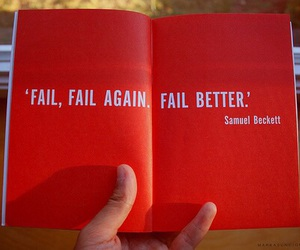 quote, fail, and book image