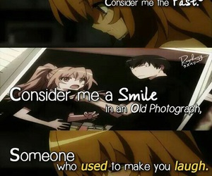 anime, toradora, and couple image
