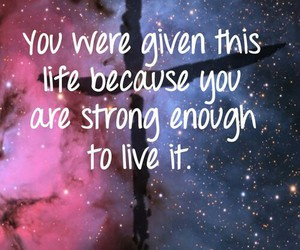galaxy, space, and quotes image