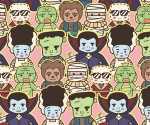background, Frankenstein, and horror image
