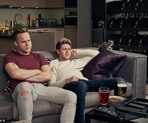 olly murs, niall horan, and 1d image