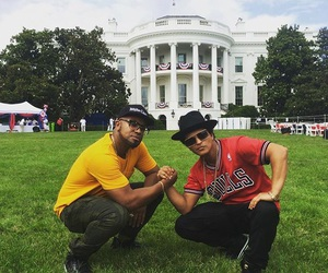 bruno mars and white house image