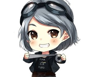 chibi, Marvel, and quicksilver image