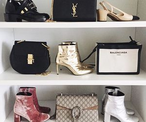 YSL, fashion, and shoes image