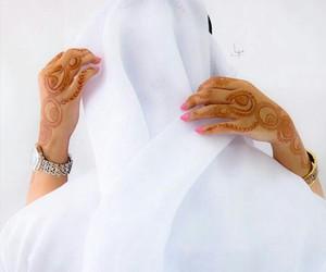 arab, couple, and muslim couple image