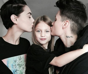 lesbian, family, and lgbt image