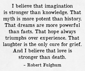death, robert fulghum, and grief image