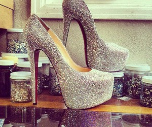 beautiful, shoes, and white image