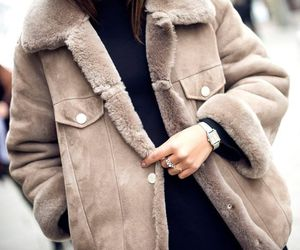 cold, fashion, and jacket image