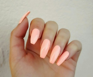 nails, neon, and pretty image